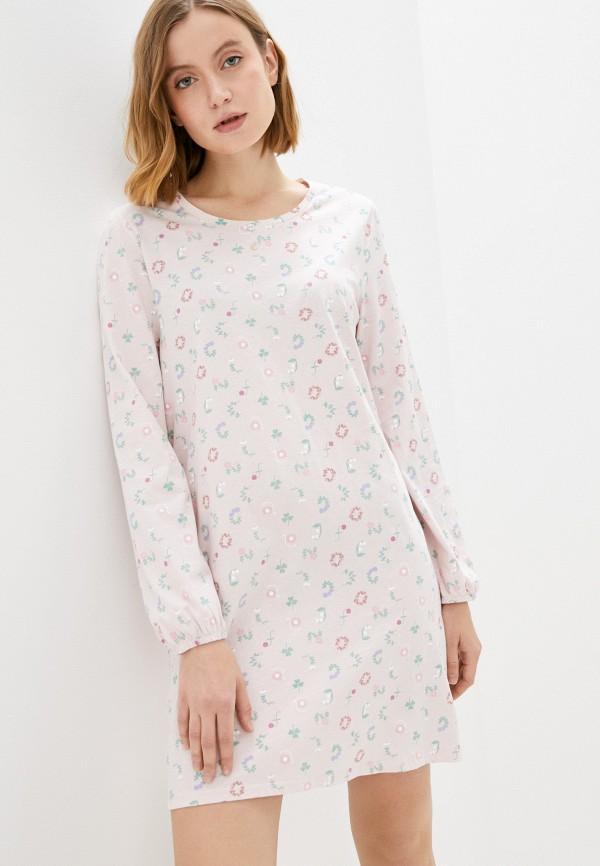 женское платье nymos, розовое