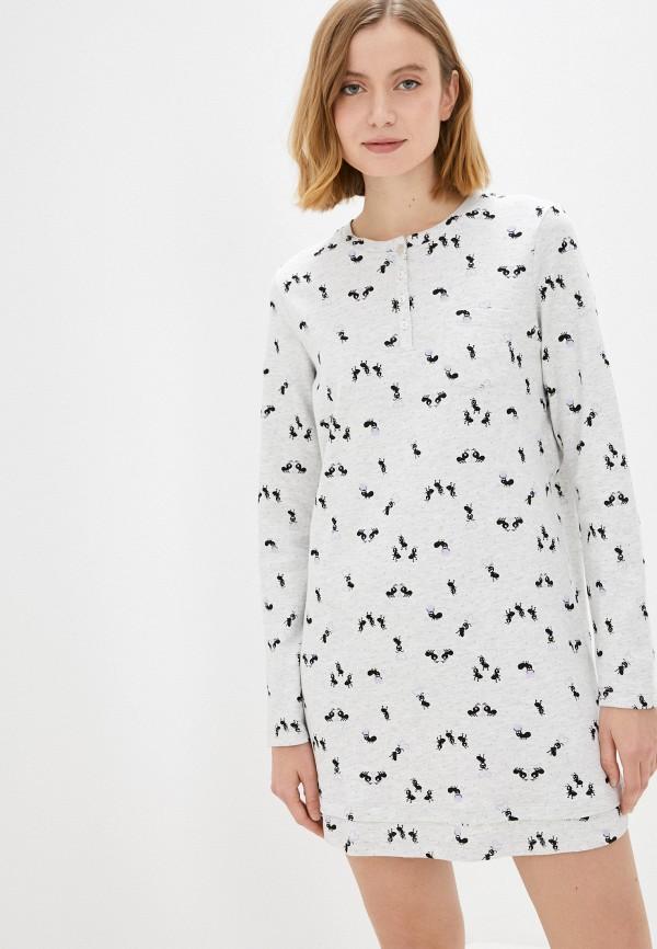 женское платье nymos, серое
