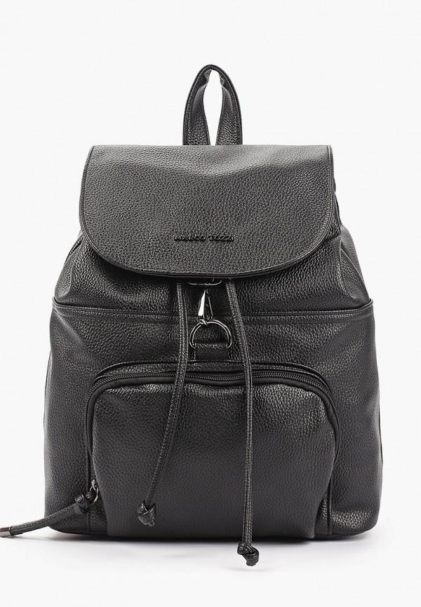 женский рюкзак marco tozzi, черный