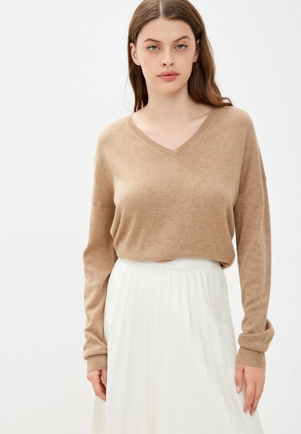 женский пуловер s.oliver, бежевый