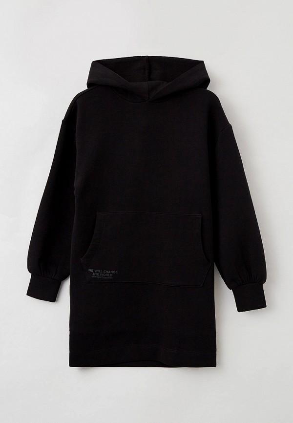 повседневные платье s.oliver для девочки, черное
