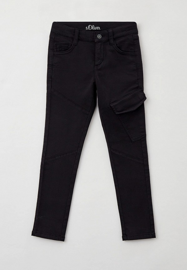 джинсы s.oliver для мальчика, черные