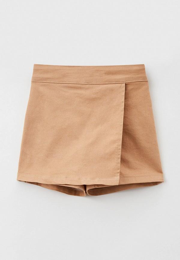 юбка koton для девочки, бежевая