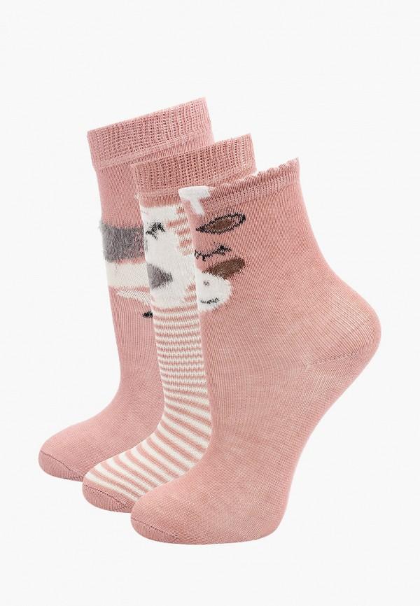 носки koton для девочки, розовые