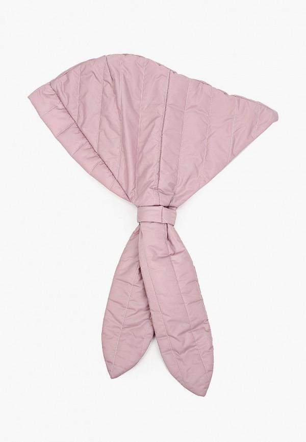 женский снуд hatparad, розовый