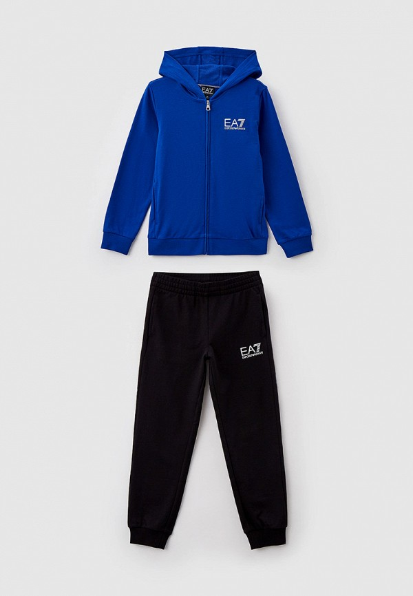 спортивный костюм ea7 для мальчика, разноцветный