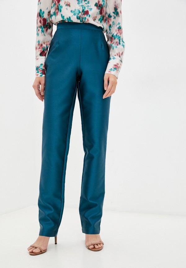 женские повседневные брюки l'autre chose, бирюзовые