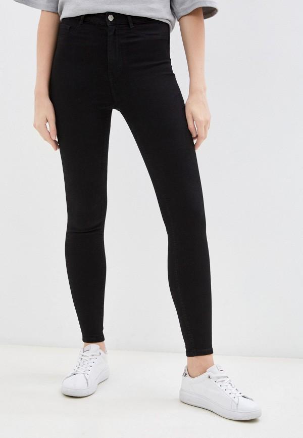 женские джинсы скинни pimkie, черные