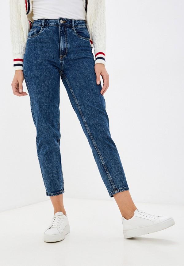женские джинсы-мом pimkie, синие