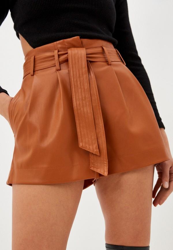 женские повседневные шорты pimkie, коричневые