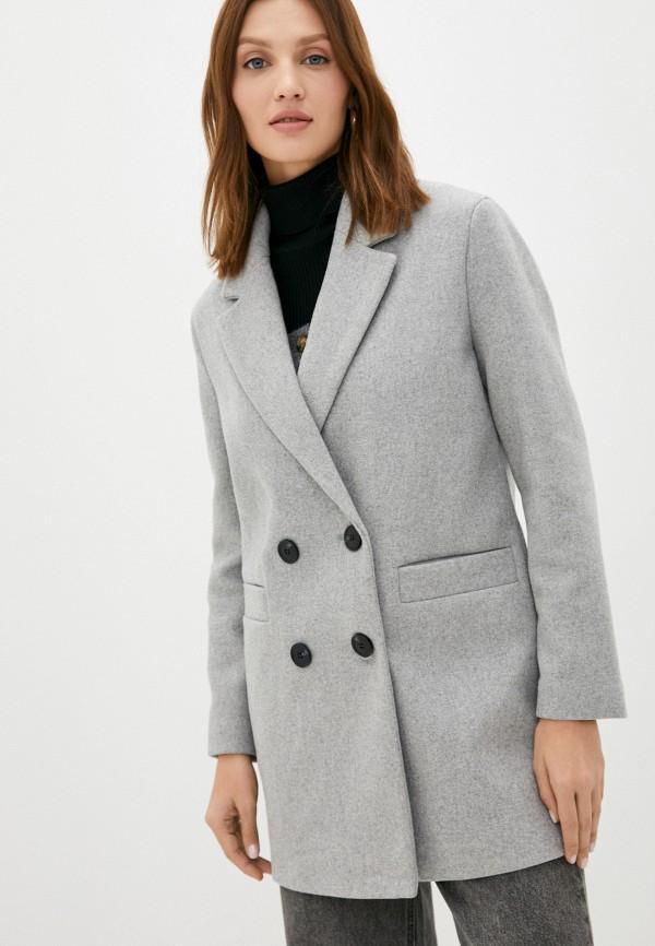 женское пальто pimkie, серое
