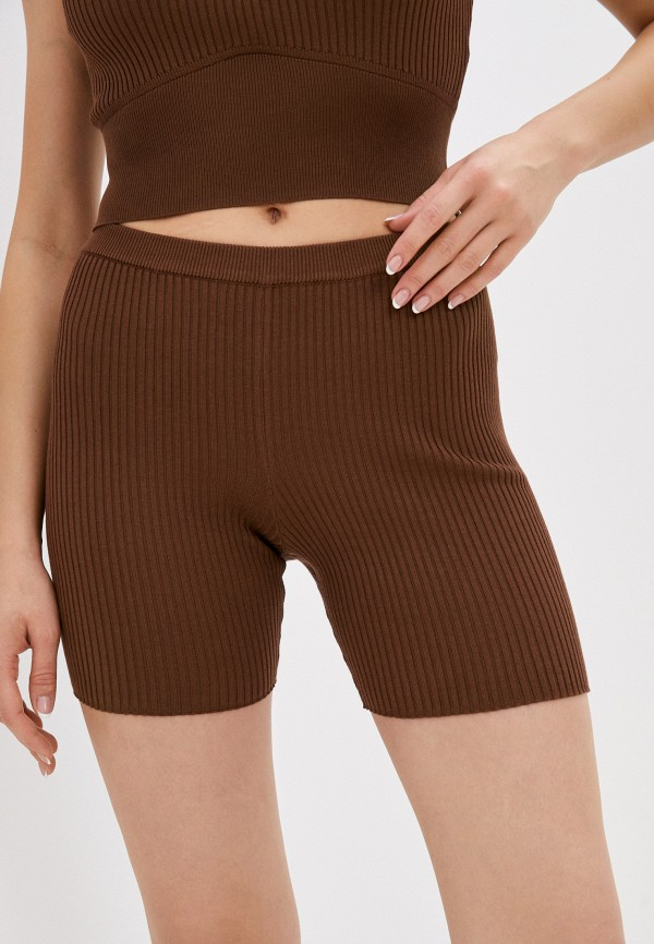 женские шорты pimkie, коричневые