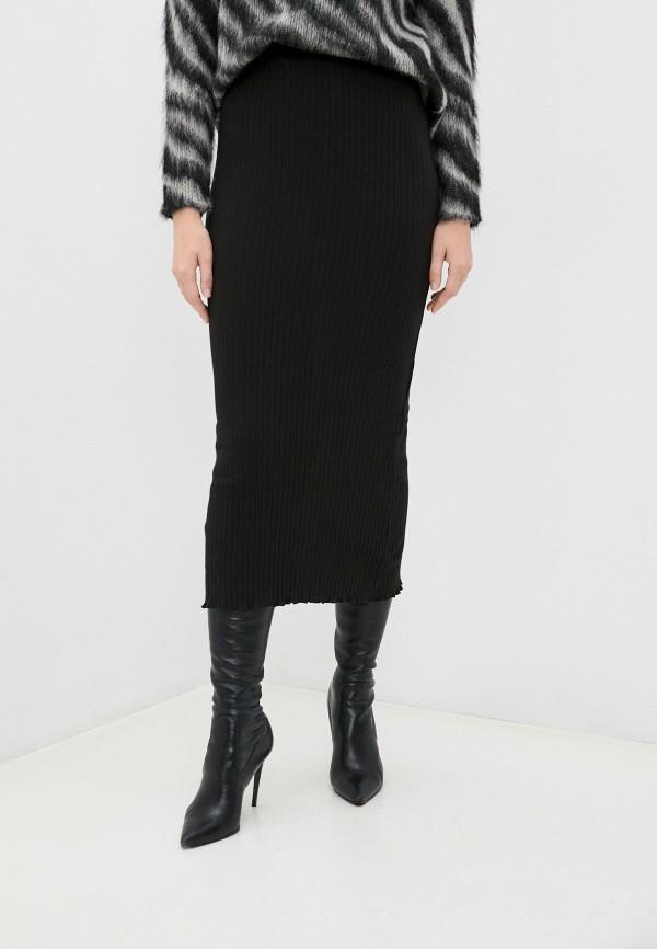 женская зауженные юбка pimkie, черная
