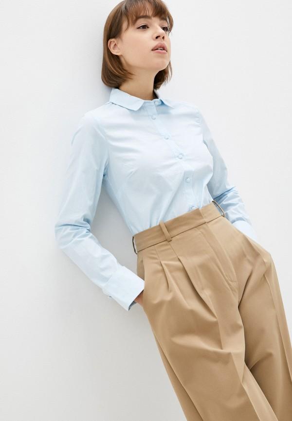 женская блузка с длинным рукавом pimkie, голубая
