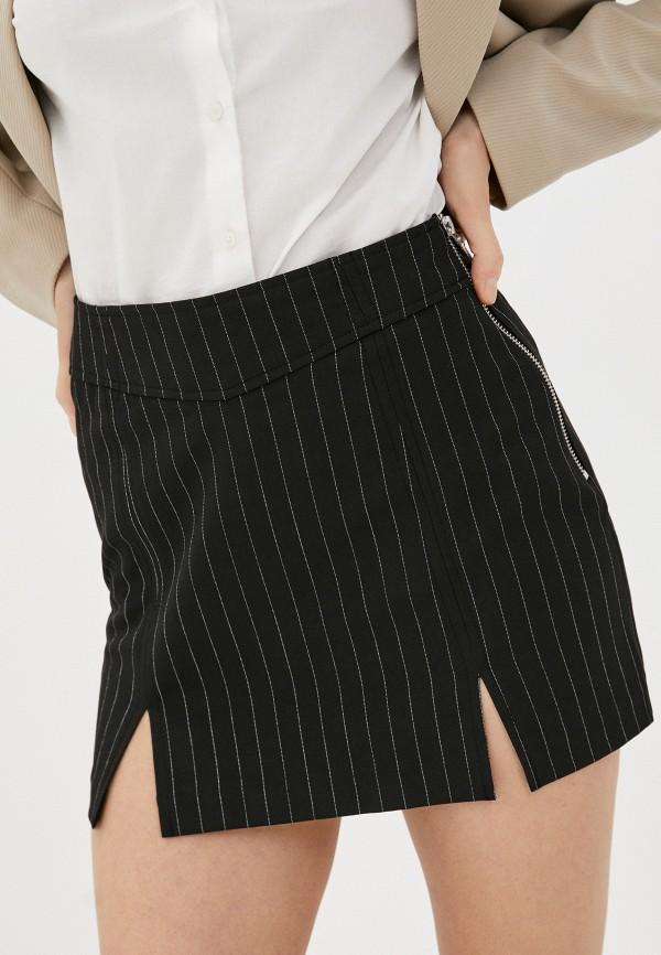 женская прямые юбка pimkie, черная