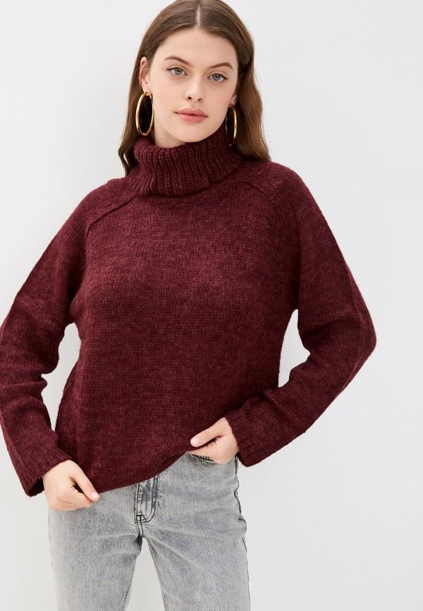 женский свитер jdy, бордовый