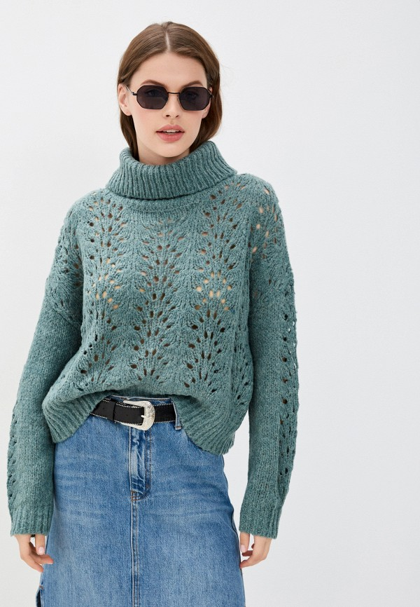 женский свитер jdy, бирюзовый