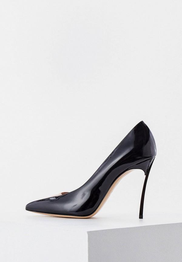женские туфли-лодочки casadei, бежевые