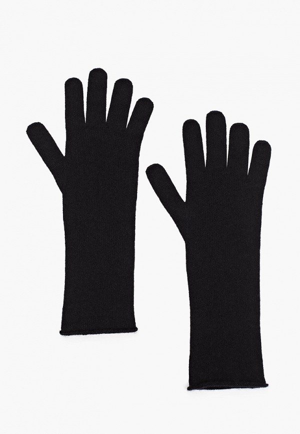 женские перчатки united colors of benetton, черные