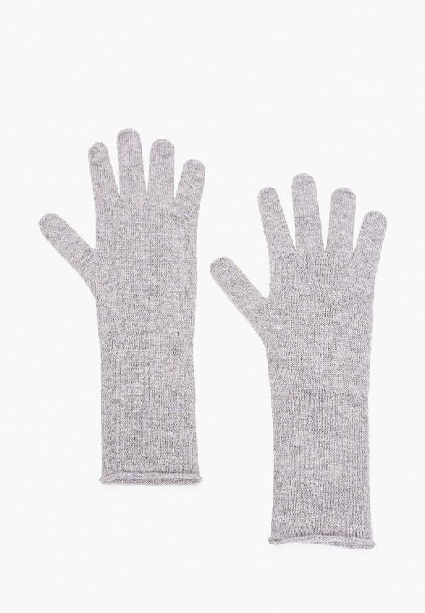 женские перчатки united colors of benetton, серые