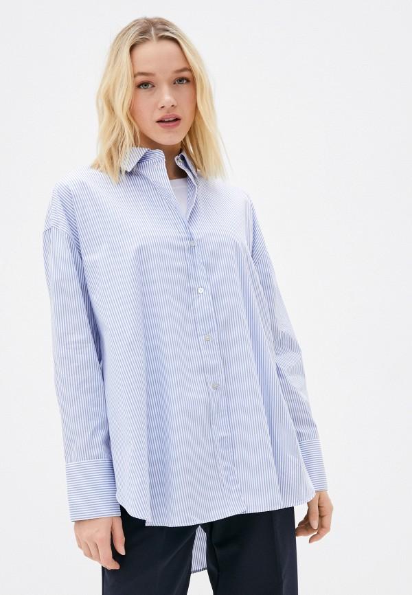 женская рубашка с длинным рукавом rich&royal, голубая