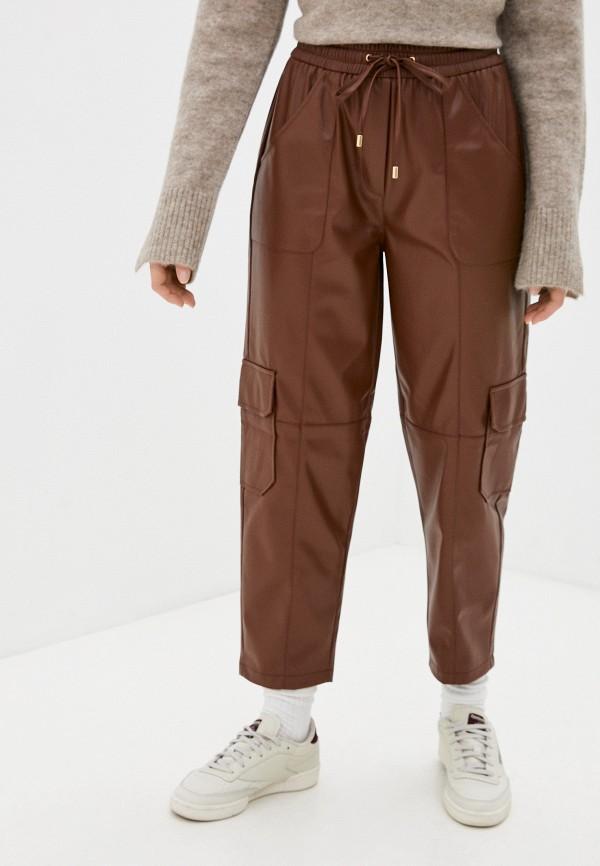 женские брюки rich&royal, коричневые