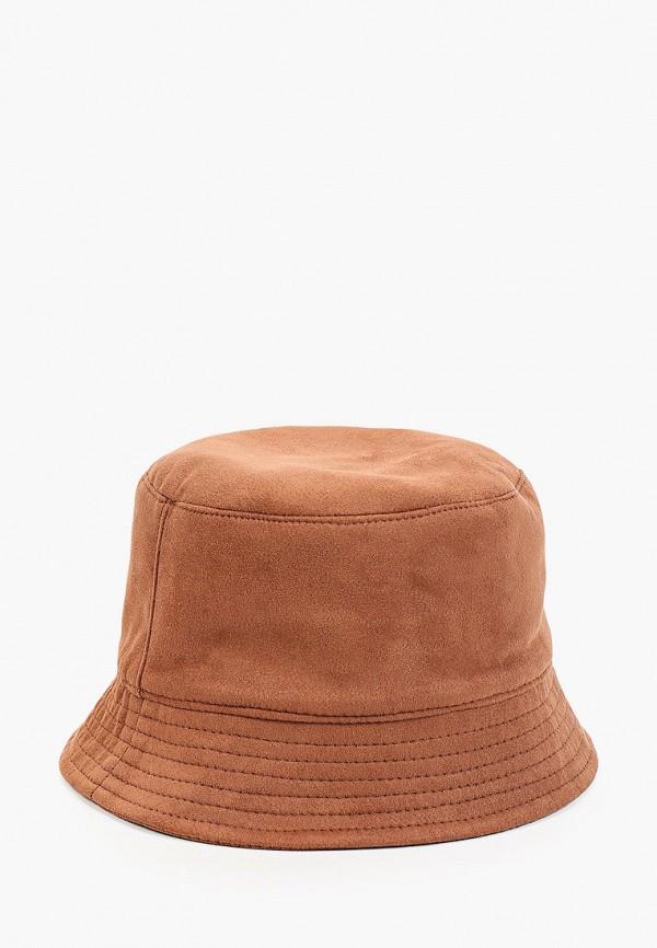 женская панама hatparad, коричневая