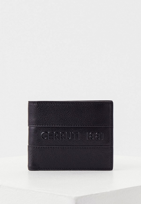 мужской кошелёк cerruti 1881, черный
