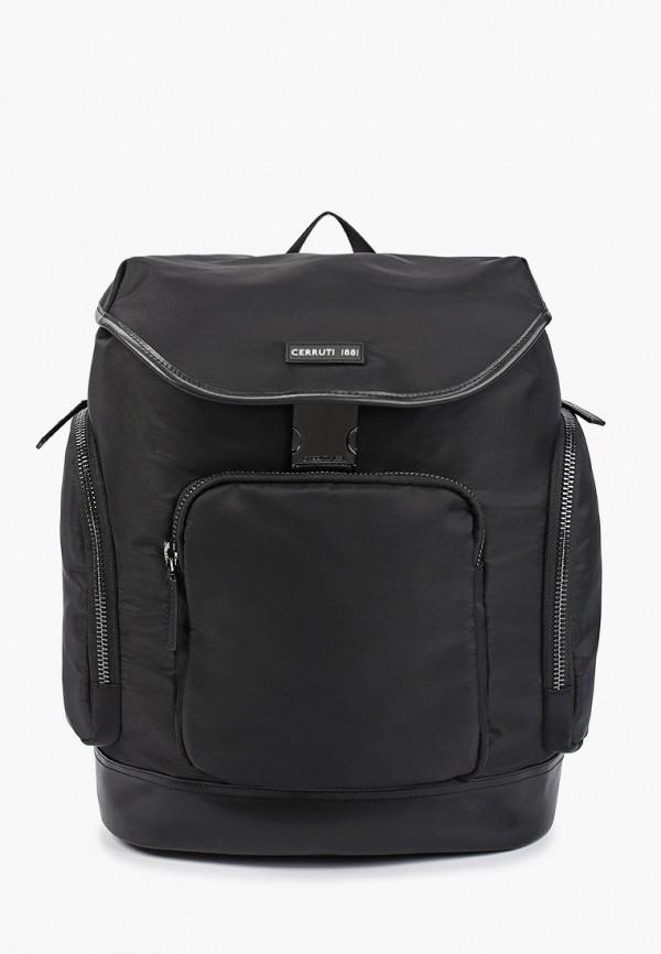 мужской рюкзак cerruti 1881, черный