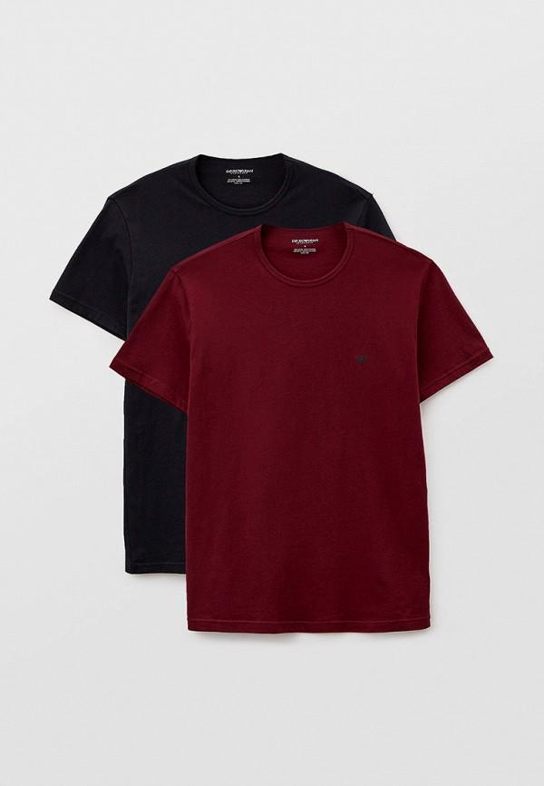 мужская футболка emporio armani, разноцветная