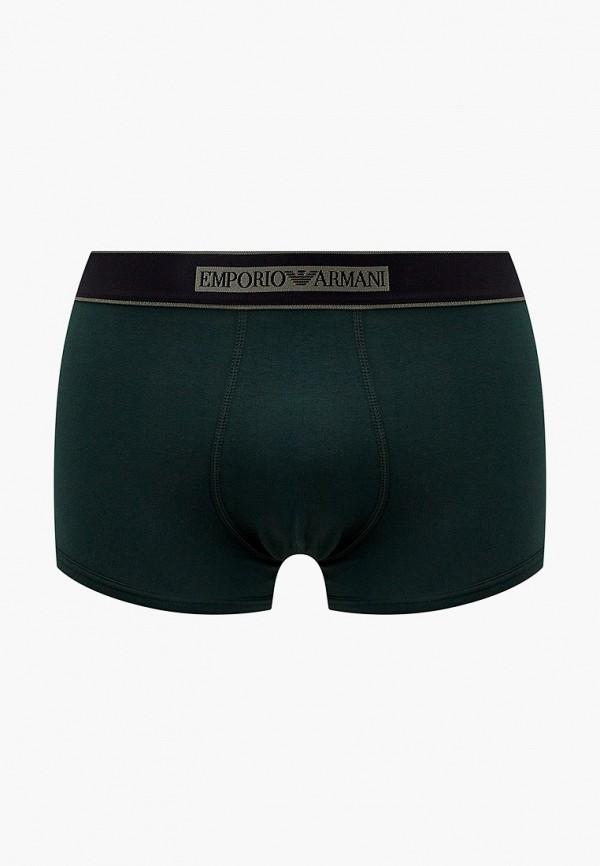 мужские трусы-боксеры emporio armani, зеленые