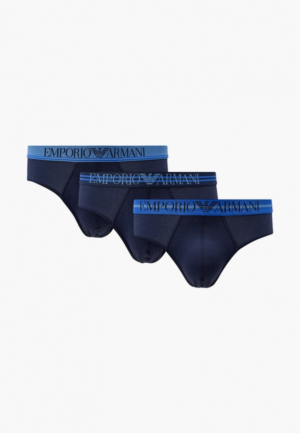 мужские трусы emporio armani, синие