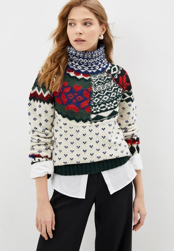 женский свитер polo ralph lauren, разноцветный