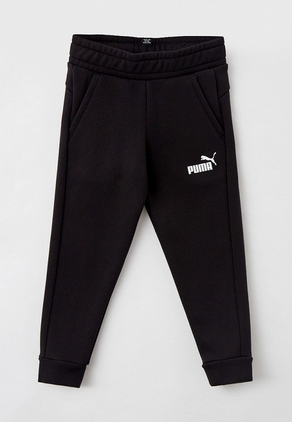 спортивные брюки puma для мальчика, черные