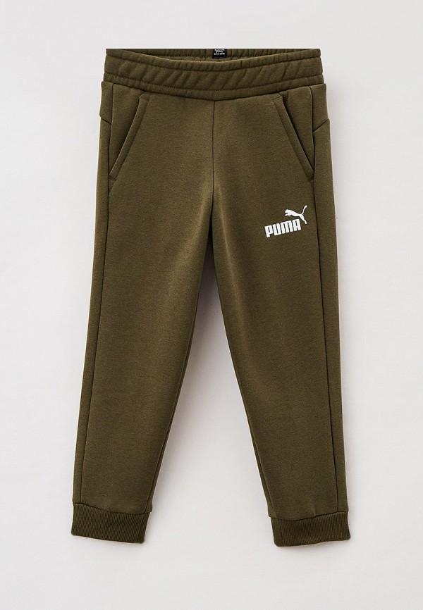 спортивные брюки puma для мальчика, хаки