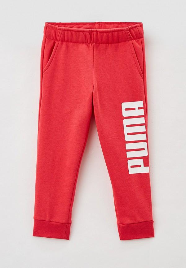 спортивные брюки puma для девочки, розовые