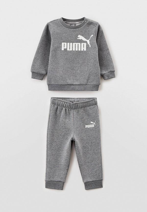 спортивный костюм puma малыши, серый