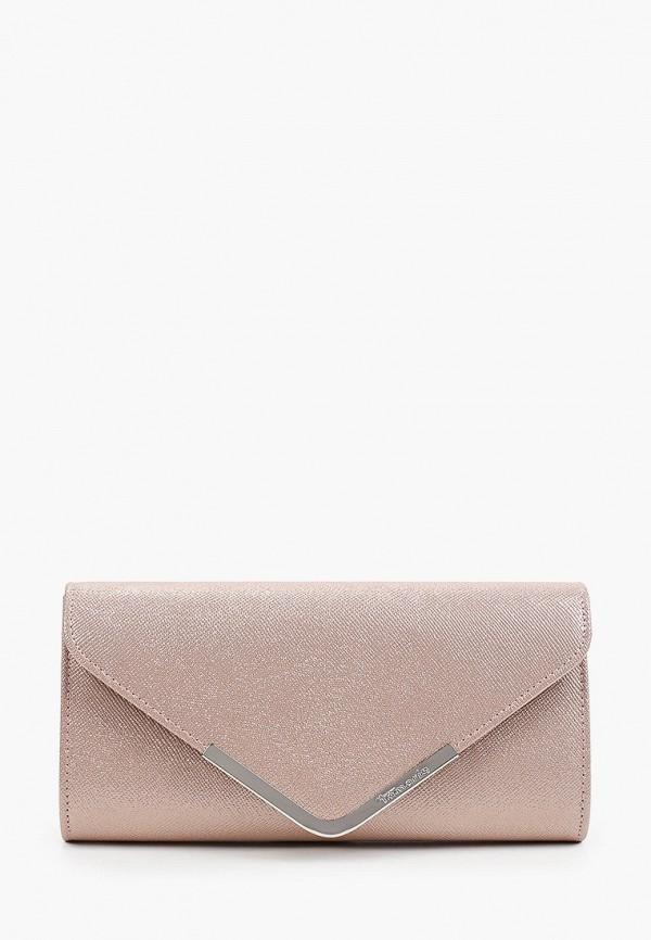 женский клатч tamaris, розовый