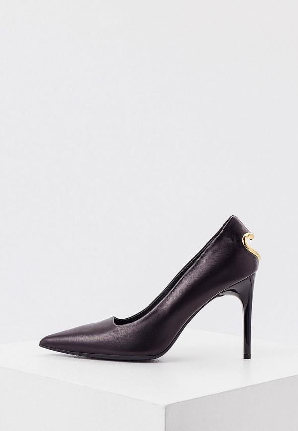 женские туфли-лодочки love moschino, черные