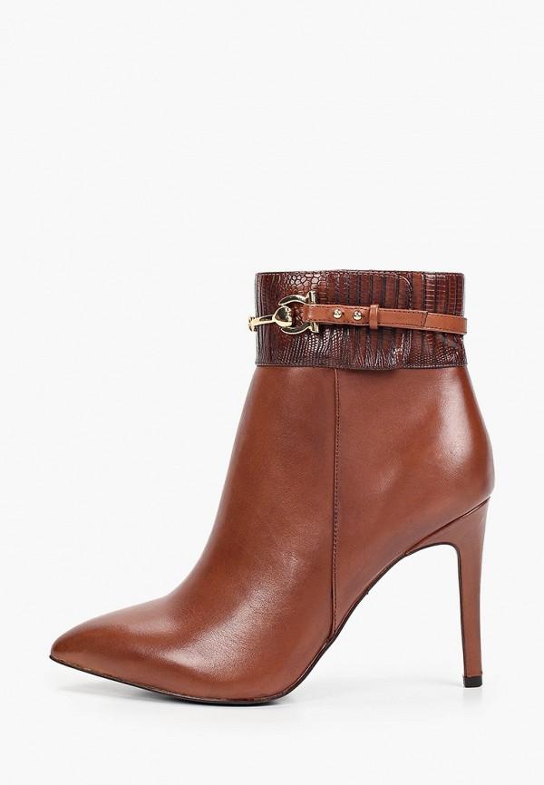женские высокие ботильоны tamaris heart & sole, коричневые