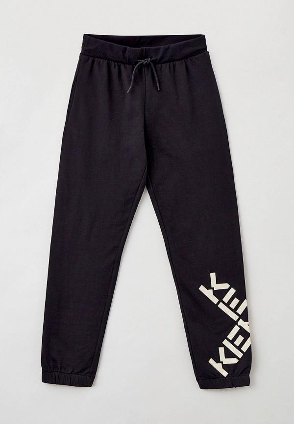 спортивные брюки kenzo для девочки, черные