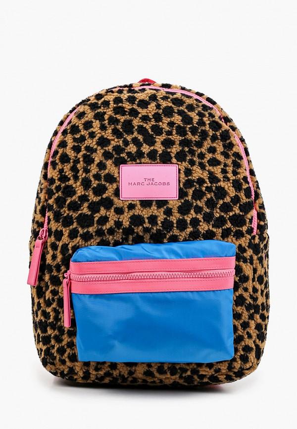 рюкзак marc jacobs для девочки, разноцветный