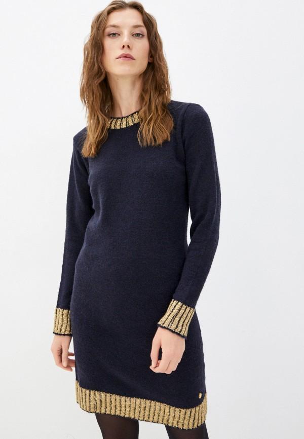 женское платье trussardi, синее
