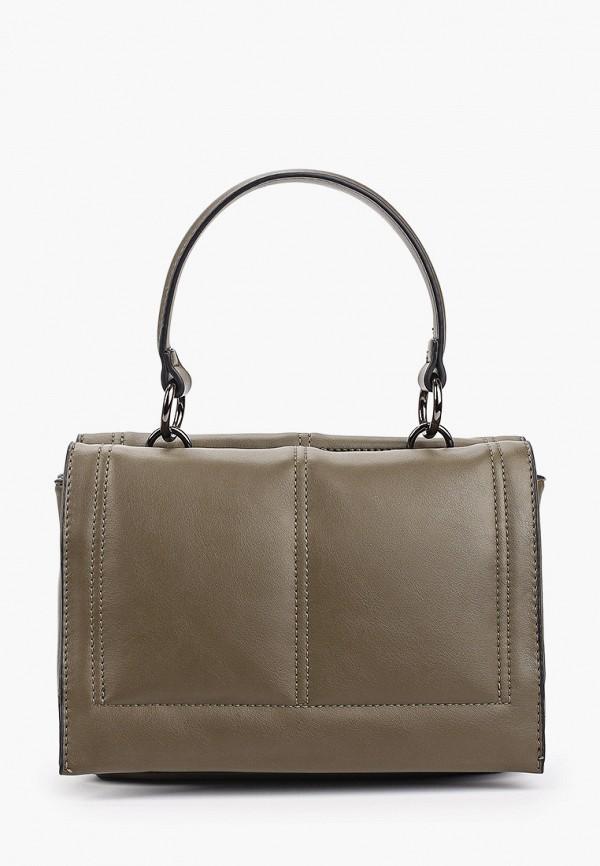 женская сумка с ручками baggini, хаки