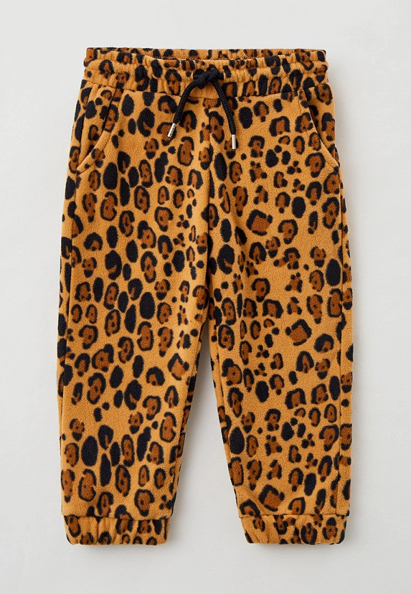 спортивные брюки mini rodini для девочки, бежевые
