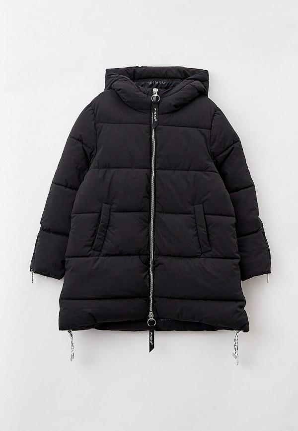 куртка pinko up для девочки, черная