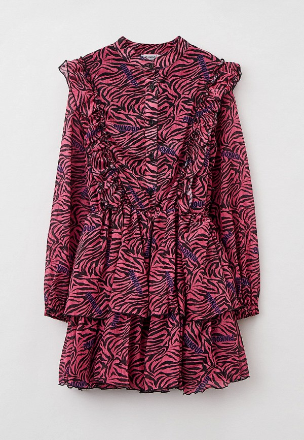 повседневные платье pinko up для девочки, разноцветное
