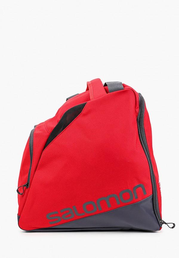 женская спортивные сумка salomon, красная
