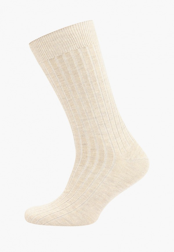 мужские носки mango man, бежевые