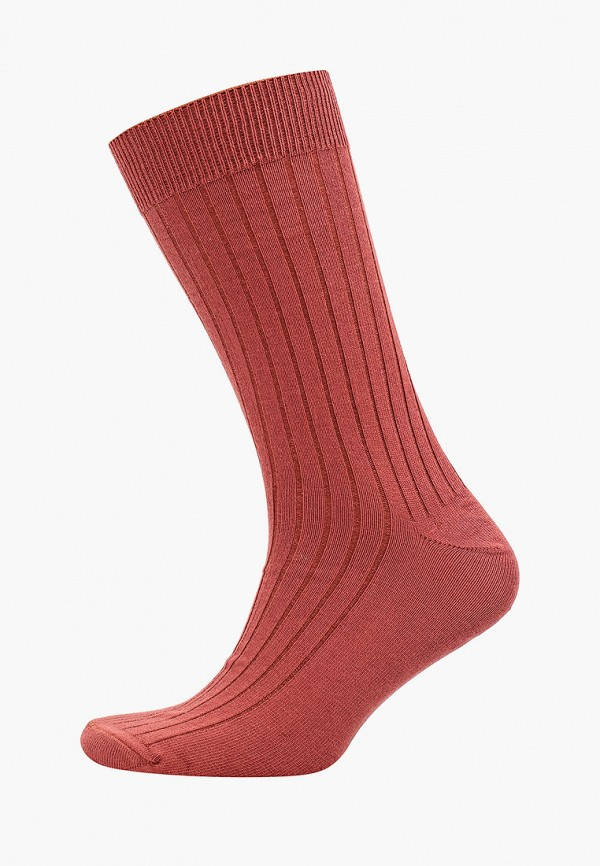 мужские носки mango man, коричневые